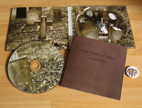The Triple Tree (Sol Invictus) - Ghosts CD (+signed)