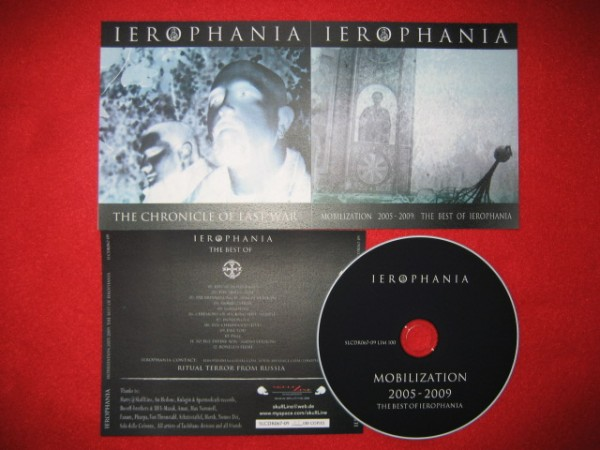 IEROPHANIA - BEST OF Mobilization 2005-2009 CD (Lim100)