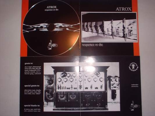 Atrox - Sequence or die CD