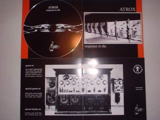 Atrox - Sequence or die CD