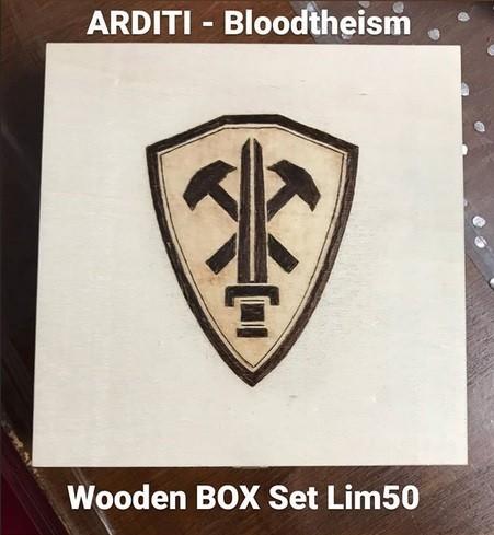 ARDITI - :BLOODTHEISM: Wooden Box (Lim50) PRE-ORDER 19/10/20