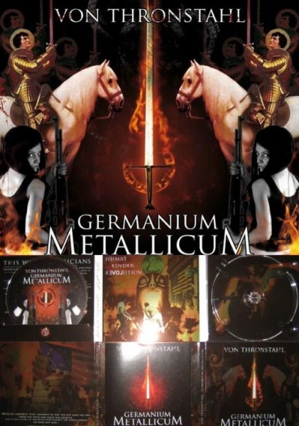 Von Thronstahl - Germanium Metallicum CD