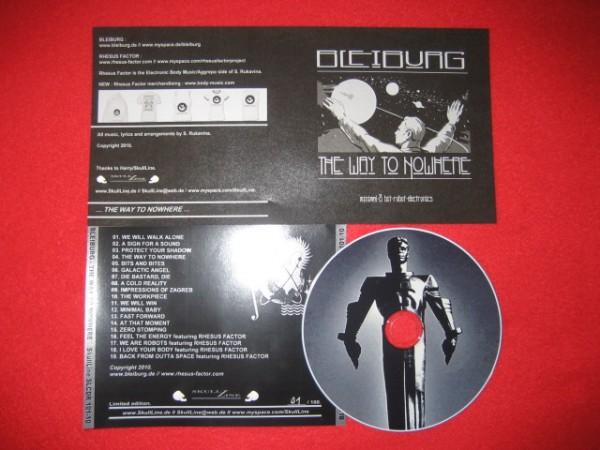 BLEIBURG - The Way To Nowhere CD (Lim100)