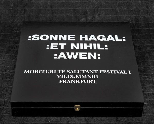 SONNE HAGAL ET NIHIL AWEN - Morituri Te Salutant 3LP Wooden BOX Lim100 (2014)