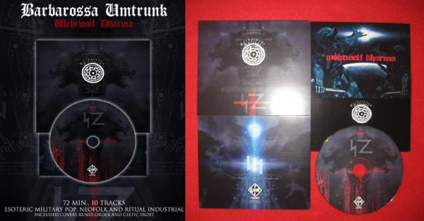 BARBAROSSA UMTRUNK - Wehrwolf Dharma CD 1st (Lim200+signed)
