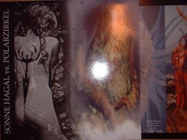Sonne Hagal / Polarzirkel - Nertus LP (Lim500)