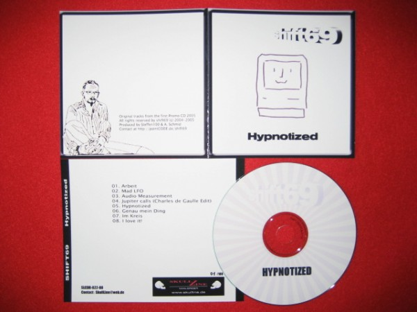 Shift69 - Hypnotized CD (Lim100) 2008