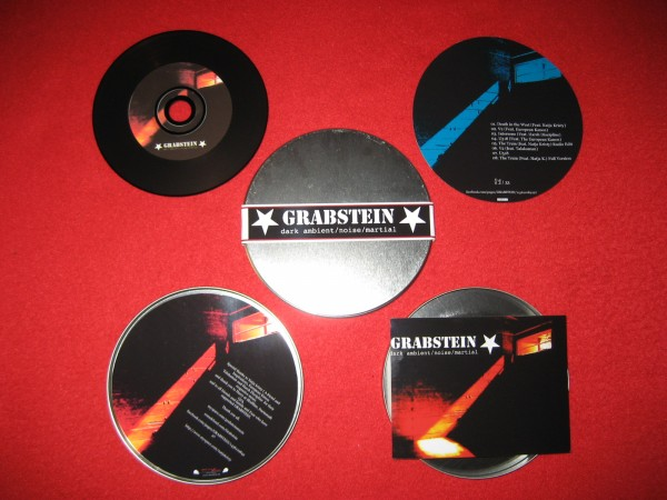 GRABSTEIN - The Mixes CD Metal-Box (Lim33)