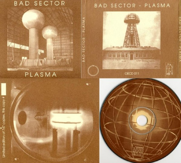 Bad Sector - Plasma CD (1st 1998)