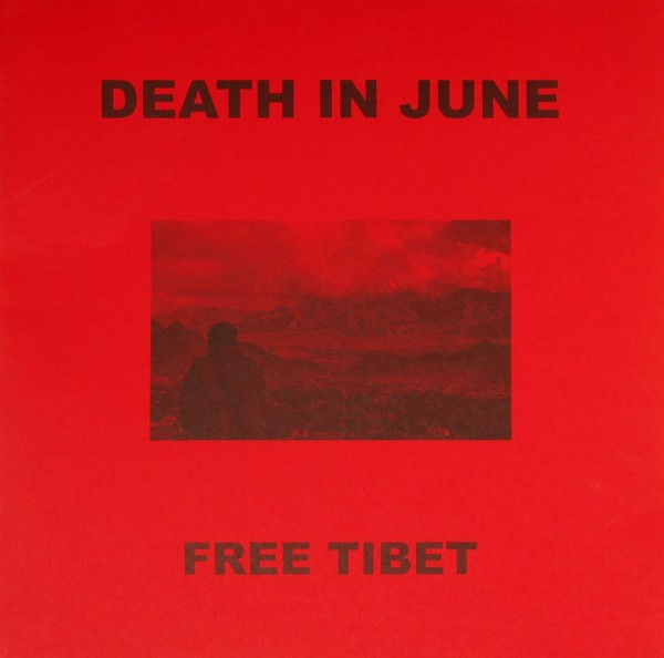 DEATH IN JUNE - Free Tibet Red LP (Lim50)