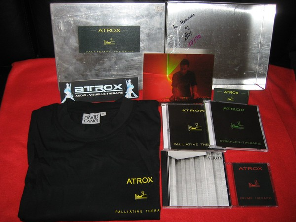 ATROX - Palliative Therapie 4CD STEEL BOX (Lim39) 2003
