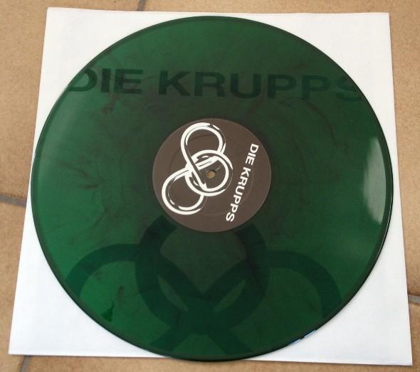 """Die Krupps - Risikofaktor 12"""" green (Lim300)"""