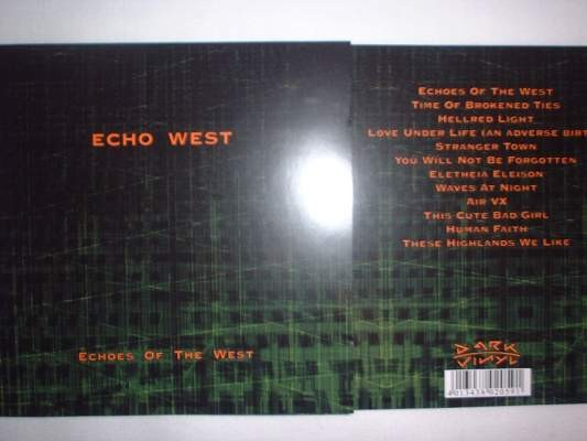 ECHO WEST - Echos of the West CD 2005