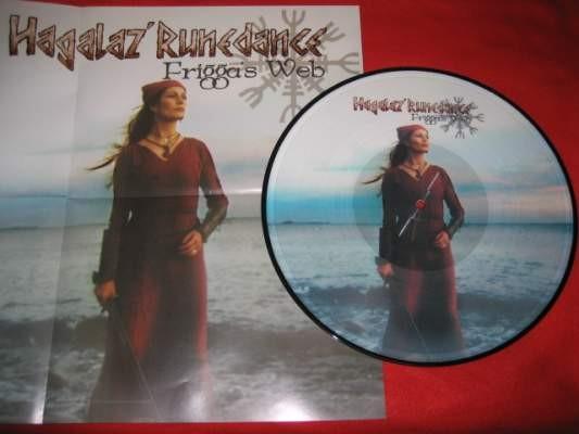 Hagalaz Runedance - Frigga's Web Pic LP (Lim500)