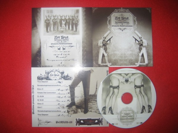 V/A Sampler - ART BRUT Burlesque Oddities CD (Lim 50) [ZR19.84]