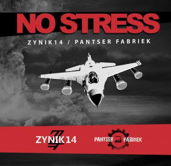 ZYNIK 14 / PANTSER FABRIEK - No Stress Split CDr (Lim100) 2020