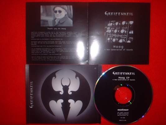GREIFENKEIL - Moog CD (Lim500) 2004