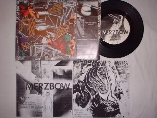 MSBR / Merzbow - Destructible Foundation 7 (Lim500)