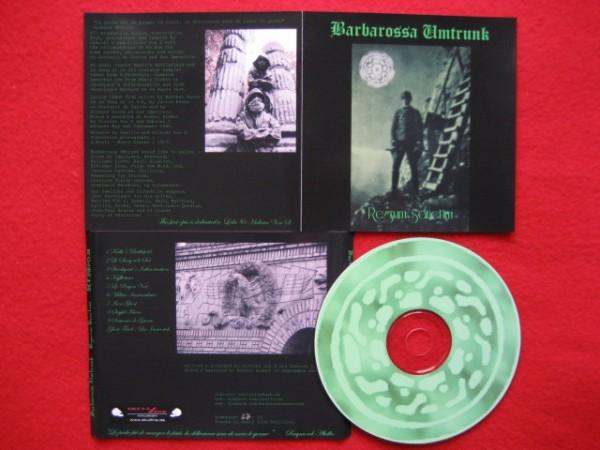 BARBAROSSA UMTRUNK - Regnum Sanctum CD (2nd Lim100)