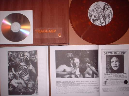 V/A THAGLASZ 6 Death in June - Von Thronstahl BOX (Lim100)
