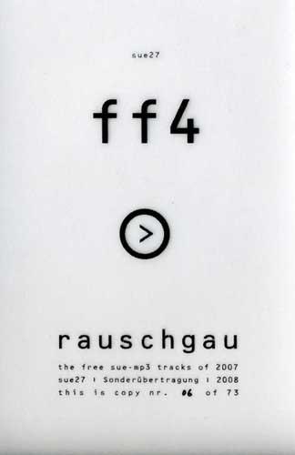 """V/A Sampler - Funkfeuer 4 """"Rauschgau"""" (Lim73)"""
