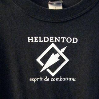 HELDENTOD - Esprit de combattant SHIRT (Lim13)