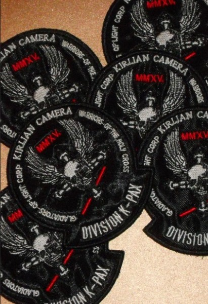 KIRLIAN CAMERA - Division K-Pax Anno MMXV Patch
