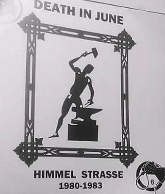 """DEATH IN JUNE """"Himmel Strasse 1980 - 1983 LP + 3 insert (Lim100) 2010"""