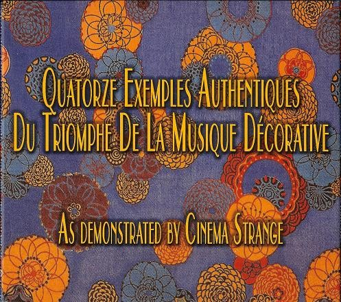Cinema Strange - Quatorze Exemples Authentiques CD