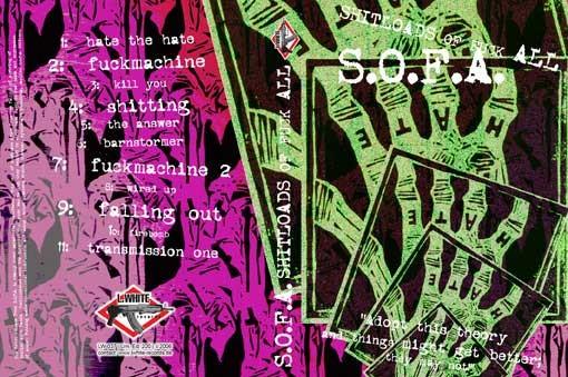 S.O.F.A. - Shitloads Of Fuck All MCD (Lim200)