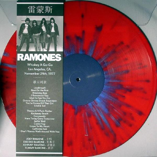 RAMONES - Whiskey A Go-Go Pic LP (Lim349) 2014