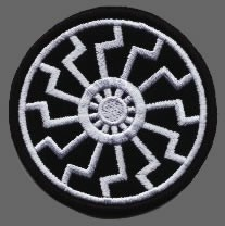 Black Sun - Patch (grey)