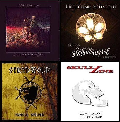 5-CD BUNDEL : L'Effet C'Est Moi Schattenspiel Strydwolf V/A 7. Year