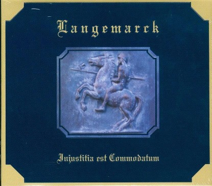 LANGEMARCK - Injustitia est Commodatum CD (Lim500)