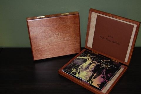 Liyr (AUSWALHT) - Sub Terra Inferis 2CD Wooden Box (Lim54)