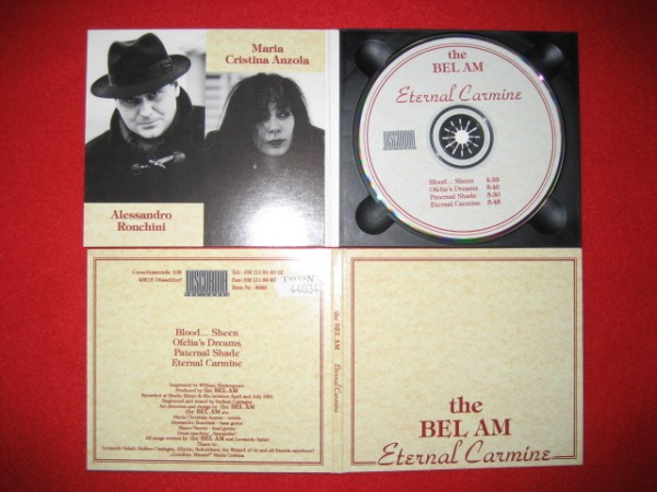 The Bel Am - Eternal Carmine CD