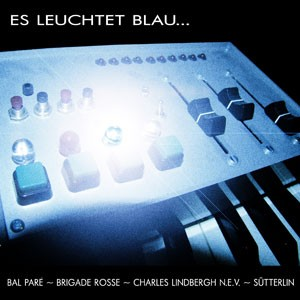 """V/A Sampler - Es Leuchtet Blau... 7"""" (Lim300)"""