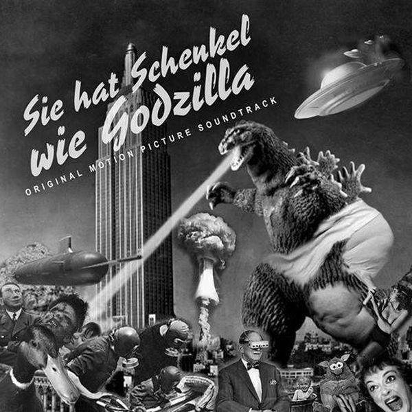 V/A Sampler - Sie Hat Schenkel Wie Godzilla LP (Lim300) 2018-Copy