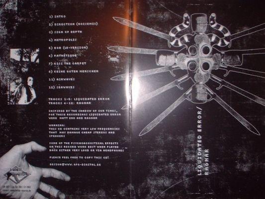Liquidated Error / Ragnar - Split CD (Lim200)