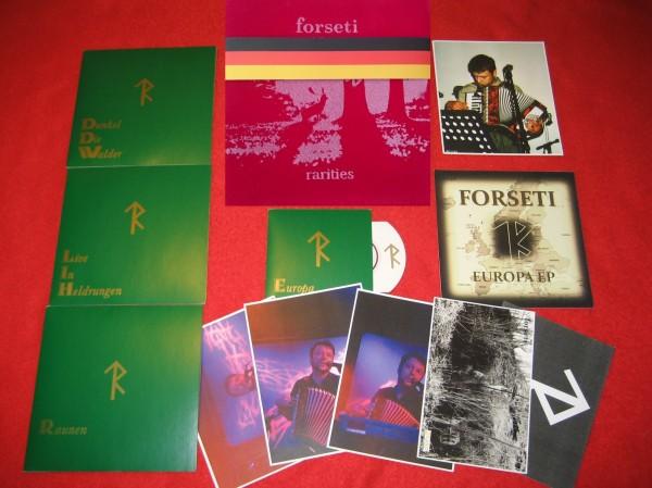 FORSETI - Rarities VELVET 4-CD BOX SET RED (Lim25) 2016 RARE !