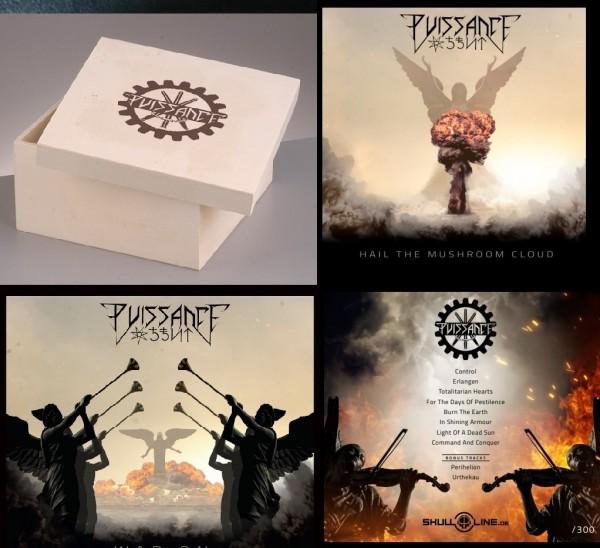 PUISSANCE (Arditi) - War On CD BOX SET 1 (Lim25) 30.10.21 PREORDER !