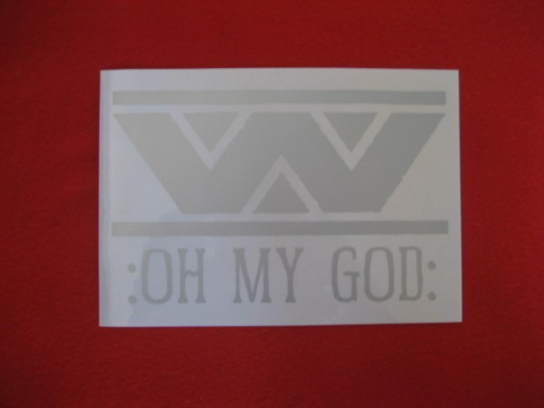 WUMPSCUT - :Oh my god: Sticker