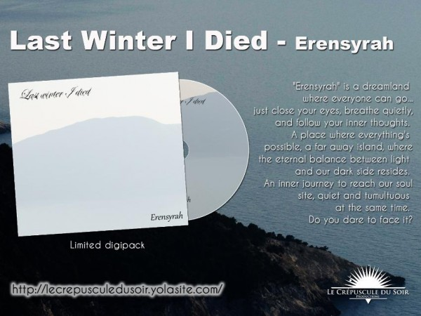 LAST WINTER I DIED - Erensyrah CDr (Lim100)