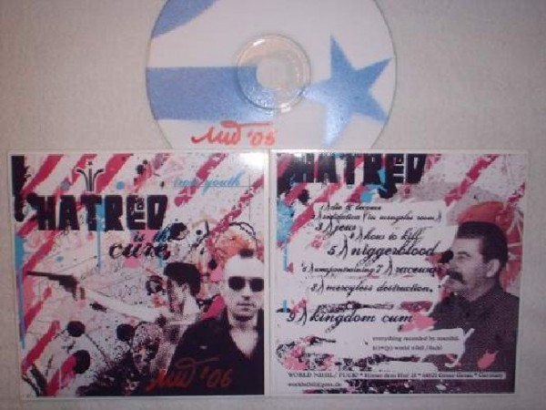 Iron Youth - Hatred Is The Cure CDr +signed (2rd Lim50)