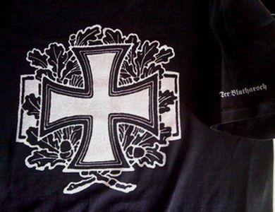 DER BLUTHARSCH - Oakleaves Shirt (silver)