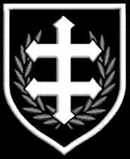 Shield Cross of Lorraine - Patch
