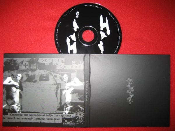 Scripta Sensus - Conscious And Unconscious CD (Lim500)