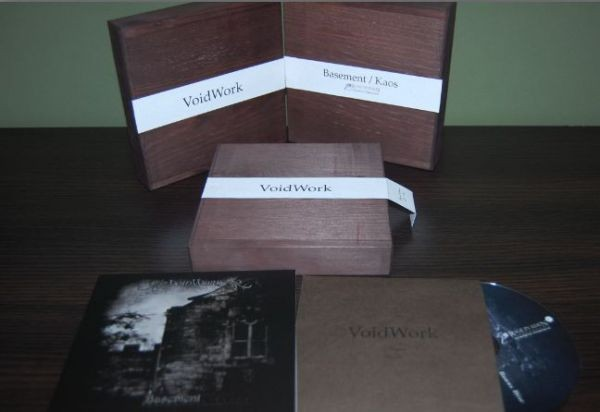 VOIDWORK – Basement/Kaos 2CD BOX (Lim120)