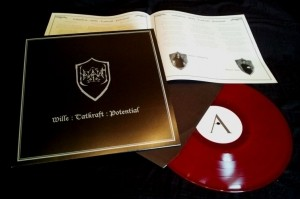 Halgadom - Wille:Tatkraft:Potential Red LP (Lim250)