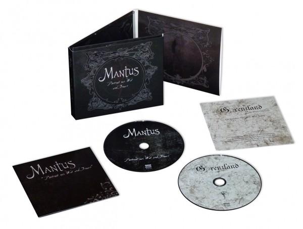 MANTUS - Portrait Aus Wut Und Trauer 2CD Digibox 2014